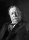 William Howard Taft (September 15, 1857 – March 8, 1930) served as the 27th President of the United States (1909–1913) and as the 10th Chief Justice of the United States (1921–1930), the only person to have held both offices.<br/><br/>  Taft was elected president in 1908, the chosen successor of Theodore Roosevelt, but was defeated for re-election by Woodrow Wilson in 1912 after Roosevelt split the Republican vote by running as a third-party candidate. In 1921, President Warren G. Harding appointed Taft chief justice, a position in which he served until a month before his death.