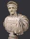 Third and last emperor of the Flavian dyansty, Domitian (51-96 CE) was the youngest son of Vespasian and most of his youth was spent in the shadow of his more accomplished brother Titus, who earned his renown during the First Jewish-Roman War. When his father became emperor at the end of the Year of the Four Emperors in 69 CE, Titus was given a great many offices while Domitian held honours but no responsibilities. This would go on for many years, until his brother, succeeding his father in 79 CE, himself died unexpectedly from illness in 81 CE. Domitian was suddenly declared emperor by the Praetorian Guard.<br/><br/>  During his reign, Domitian strengthened the Roman economy, expanded the Empire's border defenses and initiated a massive building program to restore the debilitated Rome. Further wars were fought in Britain. Domitian ruled more autocratically than previous emperors, seeing himself as the new Augustus, and formed a cult of personality around himself, making him popular with the people but considered tyrannical by the Senate.<br/><br/>  After 15 years in power, longer than any emperor since Tiberius, Domitian was assassinated in 96 CE by court officials. His death ended the Flavian dynasty and he was succeeded by his advisor Nerva, his memory condemned to oblivion by the Senate.