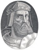 George Castriot (Albanian: Gjergj Kastrioti; 6 May 1405 – 17 January 1468), known as Skanderbeg (Albanian: Skenderbej or Skenderbeu from Turkish: Iskender Bey), was an Albanian nobleman and military commander who served the Ottoman Empire in 1423–43, the Republic of Venice in 1443–47, and lastly the Kingdom of Naples until his death.<br/><br/>    After leaving Ottoman service, he led a rebellion against the Ottoman Empire in Albania. Skanderbeg's military skills presented a major obstacle to Ottoman expansion, and he was considered by many in western Europe to be a model of Christian resistance against the Ottoman Muslims.