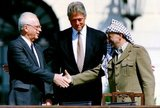 The Oslo Accords are a set of agreements between the government of Israel and the Palestine Liberation Organization (PLO): the Oslo I Accord, signed in Washington, D.C., in 1993 and the Oslo II Accord, signed in Taba in 1995. The Oslo Accords marked the start of the Oslo process, a peace process that is aimed at achieving a peace-treaty based on the United Nations Security Council Resolution 242 and 338, and to fulfill the 'right of the Palestinian people to self-determination'.<br/><br/>  The Oslo Accords created the Palestinian Authority, whose functions are the limited self-governance over parts of the West Bank and Gaza Strip; and, it acknowledged that the PLO is now Israel's partner in permanent status negotiations about the remaining issues. The most important issues are the borders of Israel and Palestine, the Israeli settlements, the status of Jerusalem, the question of Israel's military presence in and control over the remaining territories after the recognition of the Palestinian autonomy by Israel, and the Palestinian right of return.