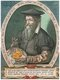 Gerardus Mercator, a Flemish German (5 March 1512 – 2 December 1594) was a cartographer renowned for creating a world map based on a new projection which represented sailing courses of constant bearing as straight lines—an innovation that is still employed in nautical charts used for navigation.<br/><br/>  In his own day he was the world's most famous geographer but, in addition, he had interests in theology, philosophy, history, mathematics and magnetism as well as being an accomplished engraver, calligrapher and maker of globes and scientific instruments.