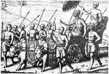 In 1597 the Dutch explorer Cornelis de Houtman arrived at Bali, and the Dutch East India Company was established in 1602.