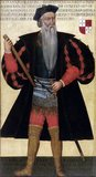 Afonso de Albuquerque (1453—1515) was a Portuguese admiral whose military and administrative accomplishments as second governor of Portuguese India established the Portuguese colonial empire in the Indian Ocean. He is generally considered a military genius.<br/><br/>  Albuquerque attempted to close all Indian Ocean naval routes to the Atlantic, Red Sea, Persian Gulf, and to the Pacific, and was responsible for building numerous fortresses to defend key strategic positions and establishing a net of diplomatic relations.<br/><br/>  Shortly before his death he was awarded viceroy and 'Duke of Goa' by king Manuel I of Portugal, becoming the first Portuguese duke not from the royal family, and the first Portuguese title landed overseas. He was known as 'The Terrible', 'The Great', 'The Caesar of the East', 'Lion of the Seas' and 'The Portuguese Mars'.<br/><br/>  There is no doubting Albuquerque's ruthless ambition. He suggested diverting the course of the Nile River to render Egypt barren. And he even planned to steal the body of the Prophet Muhammad, and hold it for ransom until all Muslims had left the Holy Land.