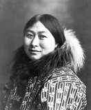 The Inupiat are an Alaskan Native people, whose traditional territory spans Norton Sound on the Bering Sea to the Canada–United States border. Their current communities include seven Alaskan villages in the North Slope Borough, affiliated with the Arctic Slope Regional Corporation; eleven villages in Northwest Arctic Borough; and sixteen villages affiliated with the Bering Straits Regional Corporation.<br/><br/>  Culturally, Inupiat are divided into two regional hunter-gatherer groups: the Tagiugmiut ('sea people'), living on or near the north Alaska coast, and the Nunamiut ('land people'), living in interior Alaska.