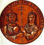 Constantine VI (771-804) was the only child of Emperor Leo IV and Empress Irene. He was crowned co-emperor in 776, and became sole emperor in 780, aged only nine. Due to his young age, his mother Irene and her chief minister Staurakios ruled in his stead. However, even when Constantine was of age at sixteen, his mother still refused to hand over executive authority to him.<br/><br/>  Constantine was to marry Rotrude, the daughter of the future Holy Roman Emperor Charlemagne, in 788, but his mother broke off the engagement and instead supported Charlemagne's enemies. When Irene attempted to get official recognition as empress in 790, the plan backfired and Constantine was finally given the throne through military support, though his mother was still allowed to keep the title of empress.<br/><br/>  Constantine soon proved he was not a capable leader however, suffering humiliating defeats at the hands of the Arabs and Bulgarians. When his uncle was favoured to replace him, he had his eyes put out and the tongues of his other uncles torn off. He became vastly unpopular, and in 797 was himself blinded and imprisoned by his mother's supporters. Irene was then crowned as Constantinople's first Empress Regnant. Constantine's date of death is unknown, though it was definitely before 805. Irene herself ruled until she was overthrown in 802, where she was then exiled to Lesbos and died the following year.