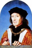 Henry VII (28 January 1457 – 21 April 1509) was King of England and Lord of Ireland from his seizing the crown on 22 August 1485 until his death on 21 April 1509, as the first monarch of the House of Tudor.<br/><br/>  Henry won the throne when his forces defeated Richard III at the Battle of Bosworth Field. He was the last king of England to win his throne on the field of battle. Henry cemented his claim by marrying Elizabeth of York, daughter of Edward IV and niece of Richard III. Henry was successful in restoring the power and stability of the English monarchy after the political upheavals of the civil wars known as the Wars of the Roses. He founded the Tudor dynasty and, after a reign of nearly 24 years, was peacefully succeeded by his son, Henry VIII.
