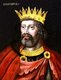 England: King Edward I of England (r. 1272 - 1307), oil on panel, anonymous, c. 1598
