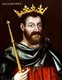 England: King John of England (r. 1199 - 1216), oil on panel, anonymous, c. 1598