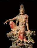 Guanshiyin or Avalokitesvara is the bodhisattva associated with compassion as venerated by East Asian Buddhists, usually as a female. The name Guanyin is short for Guanshiyin which means 'Observing the Sounds (or Cries) of the World'.<br/><br/>  Some Buddhists believe that when one of their adherents departs from this world, they are placed by Guanyin in the heart of a lotus then sent home to the western pure land of Sukhavati. It is generally accepted (in the Chinese community) that Guanyin originated as the Sanskrit Avalokitesvara, which is her male form. Commonly known in English as the Goddess of Mercy, Guanyin is also revered in Daoism as an Immortal.In Japan, Guanyin is called Kannon.
