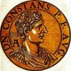 Constans I (323-350) was the fourth son of Constantine the Great, youngest brother to Constantine II and Constantius II. When his father died in 337, Constans became co-emperor alongside his brothers, with Constantius' purge of practically the rest of the imperial family ensuring power stayed in their hands.<br/><br/>  Constans inherited the central provinces of the Roman Empire in the formal partitioning, but was initially under the guardianship of Constantine II due to his young age. His older brother complained that he had not received the amount of territory that was his due as eldest son, which led to conflict with Constans. When Constans finally came of age, Constantine refused to give up his guardianship, and he eventually invaded Italy in 340. Constans sent his troops to deal with his brother, who was ambushed and killed months later, ensuring that Constans now ruled over two-thirds of the empire.<br/><br/>  Constans was known for energetic rule, and some historians claimed he was homosexual and often indulged in great vices and scandalous behaviour with barbarian hostages. Constans became cruel and corrupt in his final years, and his preference for barbarian bodyguards caused the legions to turn against him. General Magnentius declared himself emperor in 350 and assassinated Constans.