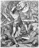 Hereward the Wake (also known as Hereward the Outlaw or Hereward the Exile, c. 1035 – c.1072) was an 11th-century leader of local resistance to the Norman conquest of England.<br/><br/>  Hereward's base, when leading the rebellion against the Norman rulers, was in the Isle of Ely, and according to legend he roamed The Fens, covering North Cambridgeshire, Southern Lincolnshire and West Norfolk, leading popular opposition to William the Conqueror.
