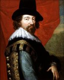 Francis Bacon, 1st Viscount St Alban, (22 January 1561 – 9 April 1626) was an English philosopher, statesman, scientist, jurist, orator, and author.<br/><br/>  He served both as Attorney General and as Lord Chancellor of England. After his death, he remained extremely influential through his works, especially as philosophical advocate and practitioner of the scientific method during the scientific revolution.