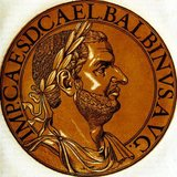 Balbinus (178-238), like his eventual co-emperor Pupienus, was a senator and politican of the Roman Empire. There is little known information about Balbinus before his ascenion to joint emperor, but what is known is that he had served as consul twice, and may have governed multiple provinces.<br/><br/>  After the Senate recognised the Gordians as co-emperors in 238 in defiance of current Emperor Maximinus Thrax, Balbinus was appointed to a committee alongside Pupienus to try and coordinate operations agaisnt Maximinus until the Gordians could arrive in Rome. The Gordians died less than a month after their ascension however, and the senate become divided in what to do next, with some wishing for Gordian III to become emperor, as the Gordians had been well liked by the people of Rome. Ultimately, Balbinus and Pupienus were declared as co-emperors. This led to riots and civil unrest in the capital, especially with the Praetorian Guard, who despised the idea of Senate-elected emperors.<br/><br/>  While Pupienus oversaw the campaign against Maximinus, Balbinus was left to deal with public order in Rome, a duty he failed at. Pupienus soon returned victorious, and Balbinus began to suspect that his co-emperor was planning to supplant him, leading to constant quarrels and fighting. Their disagreements ultimately left them open to assassination by the Praetorian Guard, who dragged them naked through the streets, publicly humiliating, torturing and then finally executing them.