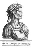 Born Gaius Octavius, his maternal great-uncle Julius Caesar was assassinated in 44 BCE, and Octavius, now calling himself Octavian, was named in Caesar's will as his adopted son and heir. He, Mark Antony, and Marcus Lepidus formed the Second Triumvirate to defeat the assassins of Caesar. Following their victory at Philippi, the Triumvirate divided the Roman Republic among themselves and ruled as military dictators. Competing ambitions eventually tore the Triumvirate apart and engulfed the Republic into another civil war. Lepidus was driven into exile and stripped of his position, while Antony committed suicide following his defeat at the Battle of Actium by Octavian in 31 BCE.<br/><br/>  Following the fall of the Second Triumvirate, Octavian, renamed Augustus, restored the facade of the free Republic, with governmental power vested in the Roman Senate. In reality, however, he still possessed autocratic power over the Republic as a military dictator. Lawfully, Augustus had powers granted to him for life by the Senate, including supreme military command. After several years, Augustus reformed the republican state into one under his sole rule. Rejecting monarchical titles, he instead declared himself Princeps Civitatis ('First Citizen of the State'). The resulting constitutional framework was known as the Principate, the first phase of the Roman Empire.<br/><br/>  The reign of Augustus initiated an era of relative peace known as the Pax Romana (The Roman Peace). The Roman world was largely free from large-scale conflict for more than two centuries, though there were continuous wars of imperial expansion on the Empire's frontiers. Augustus dramatically enlarged the Empire through annexation of Egypt, Dalmatia, Pannonia, Noricum, and Raetia, as well as expanding possessions in Africa, Germania and Hispania.