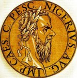 Pescennius Niger (135/140-194) was born into an old Italian equestrian family, and was the first member to become a Roman senator. He was appointed by Commodus to be imperial legate of Syria in 191, where he was serving when news came of the murder of Pertinax in 193 and the auctioning of the imperial throne to Didius Julianus.<br/><br/>  Niger was a well regarded public figure, and the citizens of Rome called out for him to return to Rome and claim the title from Julianus. Consequently, the eastern legions proclaimed Niger as emperor in 193, the second emperor to claim the imperial title after Septimius Severus. The resulting chaos and civil war was known as the Year of the Five Emperors, with claimants all across the Roman Empire vying for the throne.<br/><br/>  Niger and Severus fought in the east to see who would become undisputed emperor, though Niger was militarily outmatched and outnumbered. Severus offered Niger the chance to surrender and go into exile, but he refused, and was eventually captured in 194. He was beheaded, with his severed head travelling to Byzantium first in an attempt to cow the city into surrendering, before eventually arriving in Rome where it was displayed for all to see.