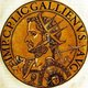 Gallienus (218-268) was the son of Emperor Valerian, and initially served as co-emperor alongside his father in 253, dividing the Roman Empire between them. While Valerian dealt with the East, Gallienus was tasked with dealing with the Germanic tribes of the West.<br/><br/>   After Valerian's defeat and capture at the Battle of Edessa by the Sassanid Empire in 260, Gallienus became sole emperor and had to contend with multiple uprisings and revolts by various governors declaring themselves emperor. One of the most severe revolts Gallienus faced was by General Postumus in the west, who claimed the provinces of Britain and Spain, as well as large swathes of Germania and Gaul, forming the Gallic Empire.<br/><br/>  Gallienus was eventually murdered by his own officials in 268 while besieging Milan in a fight against yet another revolt. His inability to defeat the Gallic Empire and retake Gaul would leave him with an unfavourable reputation by historians, while his military reforms and limits on senate power would become important for future emperors.