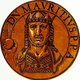Maurice (539-602) was born in Cappadocia and quickly rose to become a prominent general in his youth, with numerous successes under his belt from campaigning against the Sassanid Empire. He married Constantina, Emperor Tiberius II's daughter, and succeeded his father-in-law as emperor in 582, inheriting a tumultuous situation of numerous warring fronts and high tributes to Avar barbarians.<br/><br/>  Maurice quickly brought the war against the Sassanids to a victorious conclusion and vastly expanded the Byzantine Empire's eastern border in the Caucasus. He pushed the Avars back across the Danube River in 599, and became the first Roman emperor to campaign across the Danube in over two centuries. In the West, Maurice established two large semi-autonomous provinces known as exarchates. One was established in Italy, in Ravenna, while the other was in Africa, solidifying Constantinople's power in the western Mediterranean.<br/><br/>  Maurice's reign was troubled with almost constant warfare and financial difficulties however, leading to a dissatisfied general to rise up and execute Maurice and his six sons in 602. This proved cataclysmic to the Empire, leading to a twenty-six year war with the Sassanids and left both empires devastated prior to the rise of the Muslim conquests.